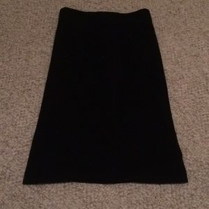 Pencil skirt with ruffle